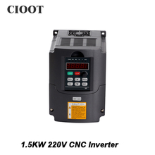 2017 Top Fashion New Arrival Single Grid Tie Inverter 1.5kw Inverter Hy Vfd Spindle 220v Frequency Drive Machine For(China)