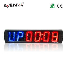 "[Ganxin]5"" Aluminium Alloy New Design Sport Gym Timer from Led Clock Manufacturer Countdown Function"