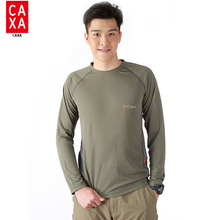 Quick Dry Breathable Anti-Pilling T Shirt 2016 New Outdoor Sport Brand Clothing Male Army Military Running Hiking T-shirt(China)