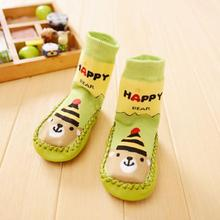 new born baby socks children socks anti slip girls boys newborn winter wear kids rubber sole socks calze neonato lowest price