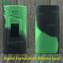 2pcs Sigelei Fuchai Duo 3 175W 175 Watts USB TC Mod Silicone Case for cheap wholesale price of Silicone Cover free shipping(China)