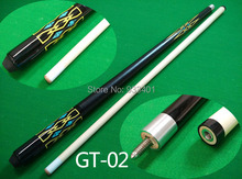 Free shipping 1/2 Split Cue Billiard Cue Stick  for Pool 12.5MM cue tip Nine-ball Ball Arm cues billiard accessories