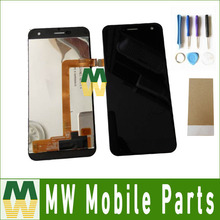 1PC/Lot High Quality For Wileyfox Spark Lcd Screen Display  + Touch Screen Assembly Black  Color with tools+Tape