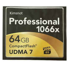 Kimsnot Professional 1066X Compact Flash CF Card 16GB 32GB 64GB 128GB 256GB CompactFlash Memory Card UDMA 7 160M/S Wholesale
