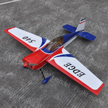 "EDGE 540 49"" EP Electric RC Airplane Model Wooden ARF 3D Plane US Stock"