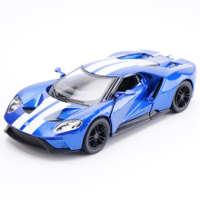 High simulation KiNSMART 1:38 Scale Ford GT Fast Furious Alloy Car Model Toy For Kids Christmas Gifts Collection Free Shipping