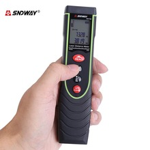 Buy SNDWAY Handheld Digital Laser Distance Meter Calibration Length/Area/Volume Measure Tool Range Finder Measure for $29.73 in AliExpress store