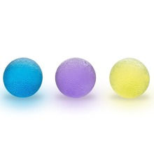 Fitness Hand Therapy Balls Exercises - Squeeze Ball - Home Exercise Kits - Hand Grips Hand Exercise Balls,Power Ball(China)