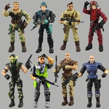 Lanard Elite Force 1:18 Military Action Figure Doll Statue 3.75 Inch Japanese ninja warrior Navy Seals(China)