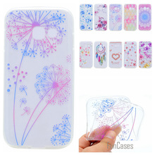 Cute Phone Case For Samsung Galaxy J3 2017 Coque Colorful Dandelion Style Soft TPU Capa For Samsung J320 J3 Prime Fundas Cover(China)