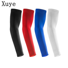 Man summer Sunscreen exercise Sports Protective Basketball Lengthen Armguards Forearm Elbow Pad Sleeve cycling Arm Warmers