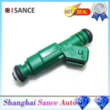 ISANCE Flow Matched Fuel Injector 0280155968 0280155968 For Audi BMW Chrysler Dodge Eagle Ford Mitsubishi Plymouth VW Lancia(China)