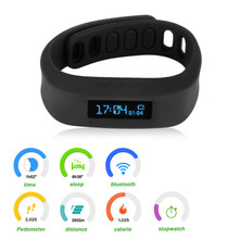 Healthy Bluetooth Bracelet For iphone 5 5S Samsung 2015 Cheap Wearable Devices Smart Wristband Bracelet(China)