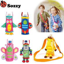 New Sozzy Baby Toy Baby Rattles & Mobiles Series Children Water Bottle Pocket Bags Beverage Bottle Handle Bags #F(China)