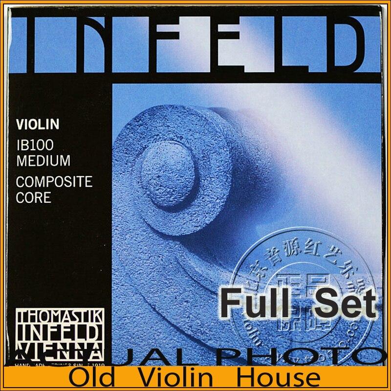 Thomastik Infeld-Blue (IB100) Violin Strings , full set,made in Austria ,Free shipping<br><br>Aliexpress