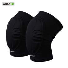 WOSAWE EVA Knee Pads Dancing Skiing Basketball Volleyball Extreme Sports Kneepad Guard Brace Support Bike Cycling Protector Gear