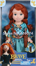 New Fashion Brave Merida Princess Figure Dolls For Girls Kids Toys Children Christmas Gifts
