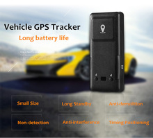 T28 Magnetic GPS Tracker Monitor Waterproof GSM Vehicle Tracking Device GPS and LBS Dual Modes Positioning Fall-off Alarm