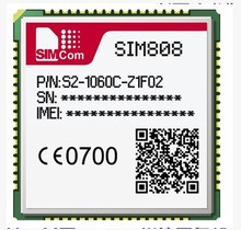 Fast Free Ship 10pcs/lot GSM+GPS+Bluetooth Triad Module With bluetooth New and Functional Good SIM808 Module