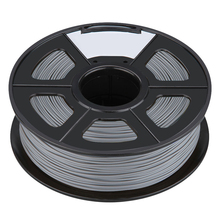 Filament 3D Printing Materials Spool of 3D Filament ABS 1Kg With NO Air Bubbles for RepRap MakerBot Ultimaker (3.00mm, Silver)(China)