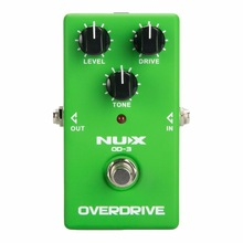 NUX OD-3 Overdrive Electric Guitar Effect Pedal True Bypass Warm tube natural overdrive sound Guitar Pedal free shipping
