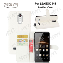 For Leagoo M8 Pro Leather Case Cover Flip New Arrival Original Protective Skin Cover Case for Leagoo M8 Mobile phone