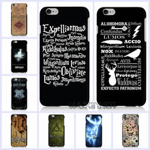 For iphone 6 6s 7 plus hard Plastic PC Back Cover For 5 5s 5c 4s SE ipod touch 5 6 Harry Potter Painted phone Case