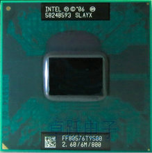 Free Shipping intel CPU laptop Core 2 Duo T9500 CPU 6M Cache/2.6GHz/800/Dual-Core Socket 479Laptop processor for GM45 PM45(China)