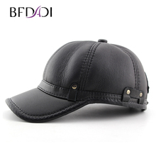 BFDADI Winter Imitation Sheepskin Baseball Cap Biker Trucker Outdoor Sports Snapback Hats For Men Hats Warm Caps Large Size 60(China)