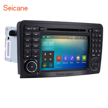 Seicane Android 7.1 GPS Navi Car DVD Player for 2005-2012 Mercedes Benz ML CLASS W164 ML350 ML430 ML450 ML500 with Bluetooth(China)