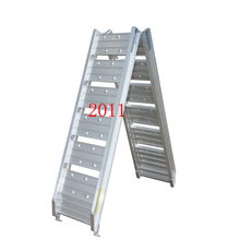 Loading Ramps ATV Ramp 1525mm Dual Arched Folding Aluminum Garden Tractors Off Road(China)
