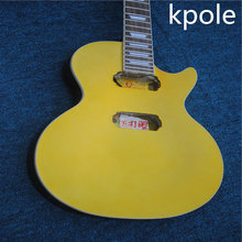 DIY Guitar Kits, Unfinished BYO Electric Guitar Kit, Kpole LP guitar Nitro Lacquer(China)