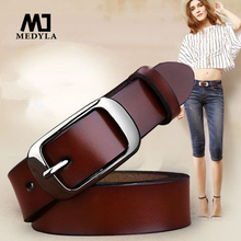 Free shipping Love strap Women genuine leather fashion all-match belt women's cowhide casual pants belt(China)