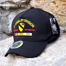 Fashion 2016 Wild Outdoor Hat First Cavalry Division Baseball Cap Seals Hat 101 Marines Peaked Cap Gorras(China)