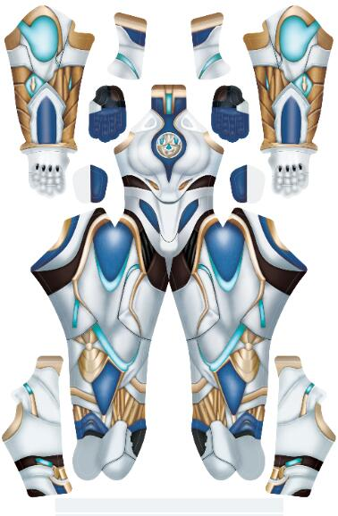 Mortal Kombat 11 frost Cosplay Costume warframe frost Zentai Suit 3D Print Lycra Game Halloween Party Bodysuit