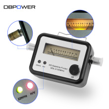 DBPOWER SF002 Digital Satellite Finder Alignment Signal Satfinder Find Meter Dish Compass DirecTV Network LNB Satellite Finder