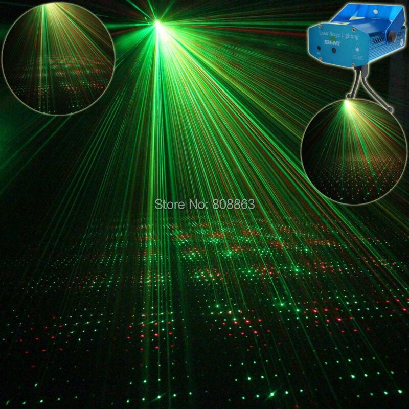 eSHINY Mini R&amp;G sound Moving Laser projector Club Bar lighting lights Dance Disco home party Xmas DJ Stage Light show Y1 +Tripod<br><br>Aliexpress