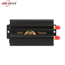 Car GPS Tracker Cut off the Oil and Power Data Logging LBS Voice Monitoring Anti-theft GSM Locator Car GPS103A+ ACC Alarm SOS(China)