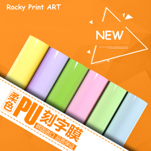 5rolls 50CMX100CM NEW Heat Transfer Vinyl Cutting Film Cutter Press Iron-on for textile