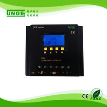 JNGE Brand PWM Panel Battery Charge Controller 12/24/48v auto Home Solar System Charge Controller 5v USB Solar Regulator(China)
