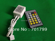 24Key IR Led color temperature Controller;DC12-24V input,max 3A*2channel output