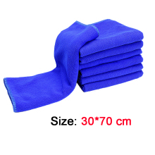 70 X 30 CM Microfiber Deep Plush Car House Cleaning Detail Dry Cloths Towels(China)