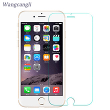 10 pcs/Lot 2.5D cell phone screen protector Tempered Glass on the For iPhone 6 Tempered Protective Glass For iphone 7/5s/7 plus(China)