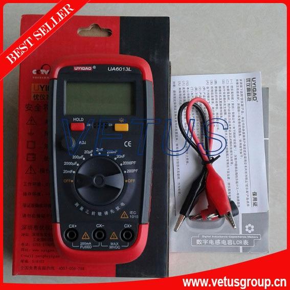 UA6013L Auto Range Digital Capacitance Meter Multimeter with LCD display<br><br>Aliexpress
