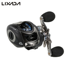 Lixada Fishing Reel 11BB Ball Bearings Baitcasting Reel High Speed 6.3:1  Left/Right Hand  carretilha de pesca direita LMA200