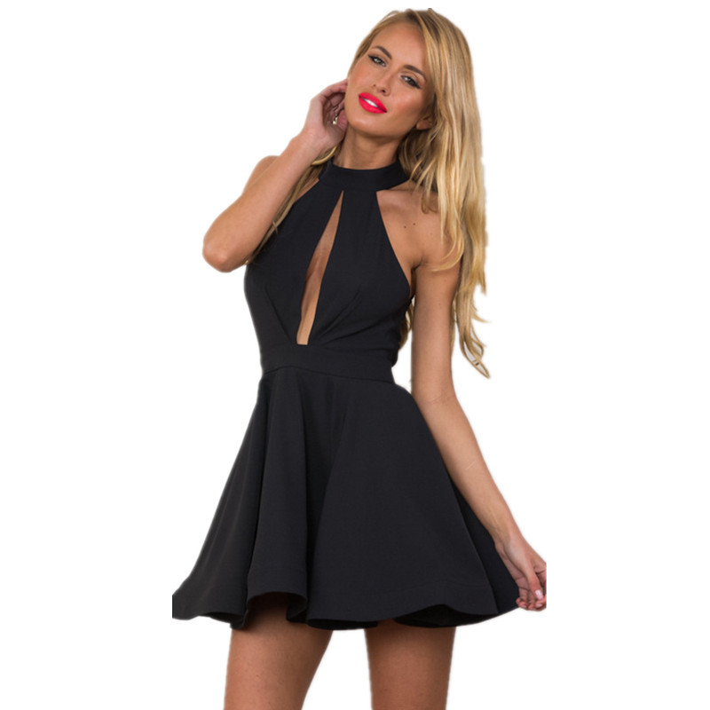 Sexy Backless Ballet Tutu Halter Neck Dresses Skaters Club Party