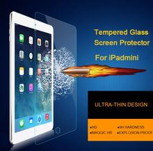 Lastest 9H 0.3mm Premium Tempered Glass protective Film For iPad mini 1/2/3 High Definition Screen Protector for iPad mini 4