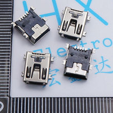 20pcs Mini USB connector SMD USB Data interface 5PIN 5 needle mini Micro usb socket Free shipping