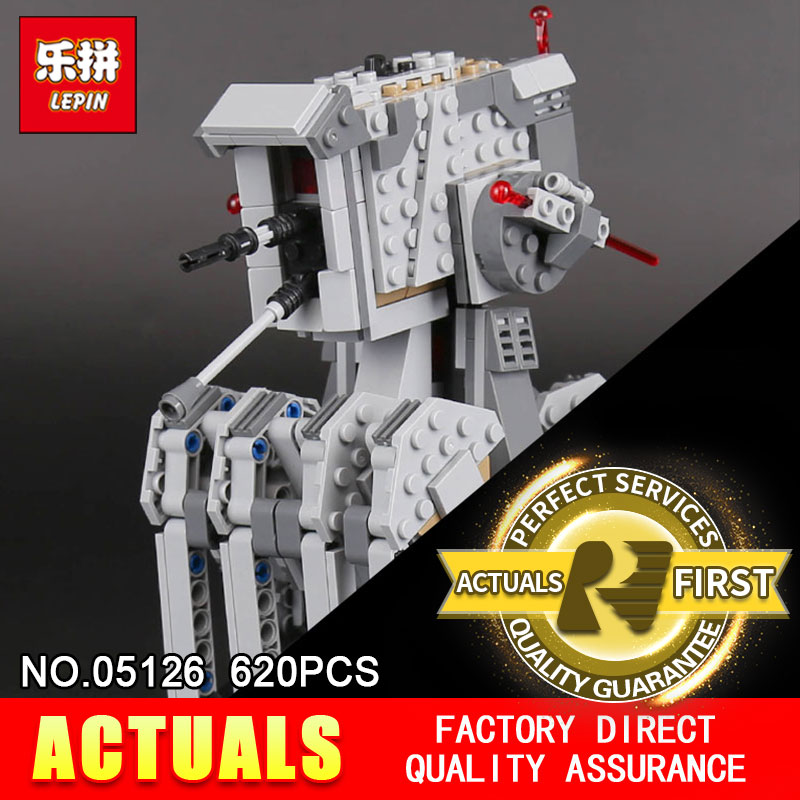 Lepin 05126 620Pcs The First order scout walker Set Genuine Star Plan Series 75177 war Building Blocks Bricks Children Toys Gift<br>
