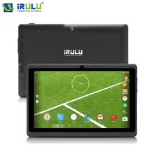 "Newest iRULU X3 7"" TFT LCD Screen Android Tablet PC 1GB/8GB Quad Core 1.3GHz Dual Cam 1024*600 HD 2800mAH Netbook Muti-Colors(China)"